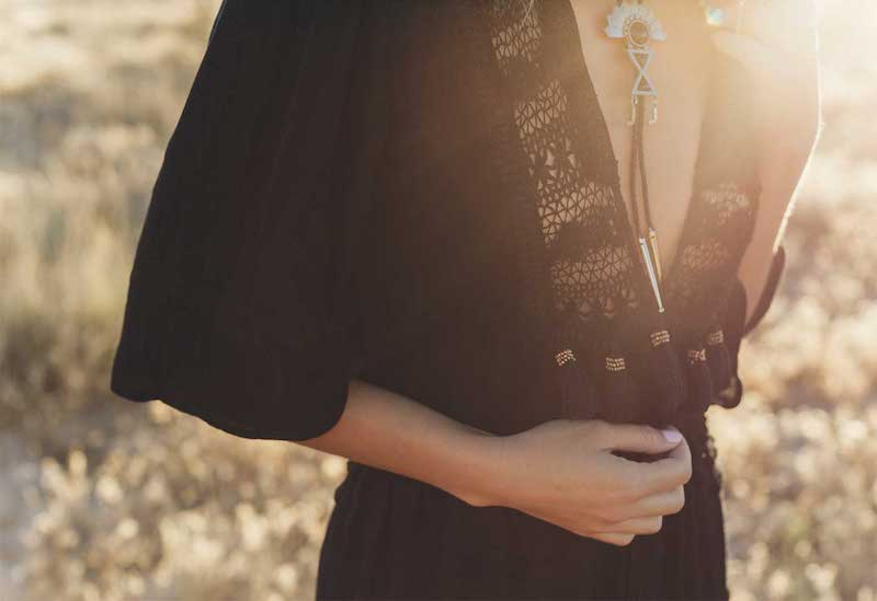 "Free Spirited Bohemian Outfits In Cleobella ""Karmic Oasis"" lookbook 2019"