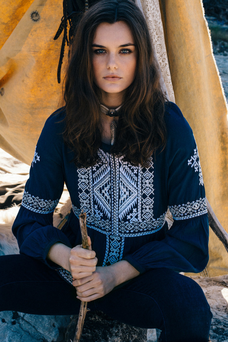 "Wild Bohemian West In Double D Ranch ""Mi Terra"" Pre-Fall Collection 2019"