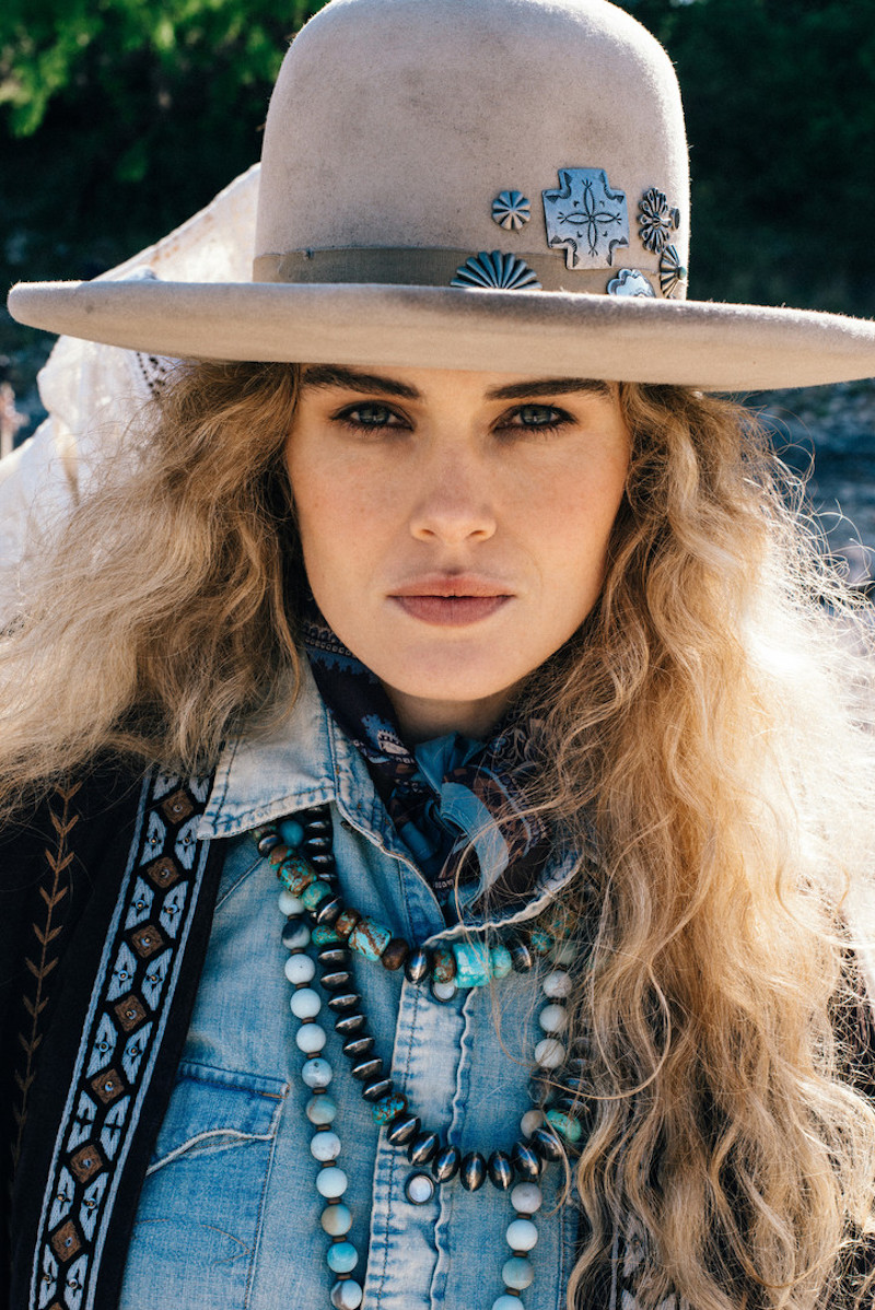 "Wild Bohemian West In Double D Ranch ""Mi Terra"" Pre-Fall Collection"