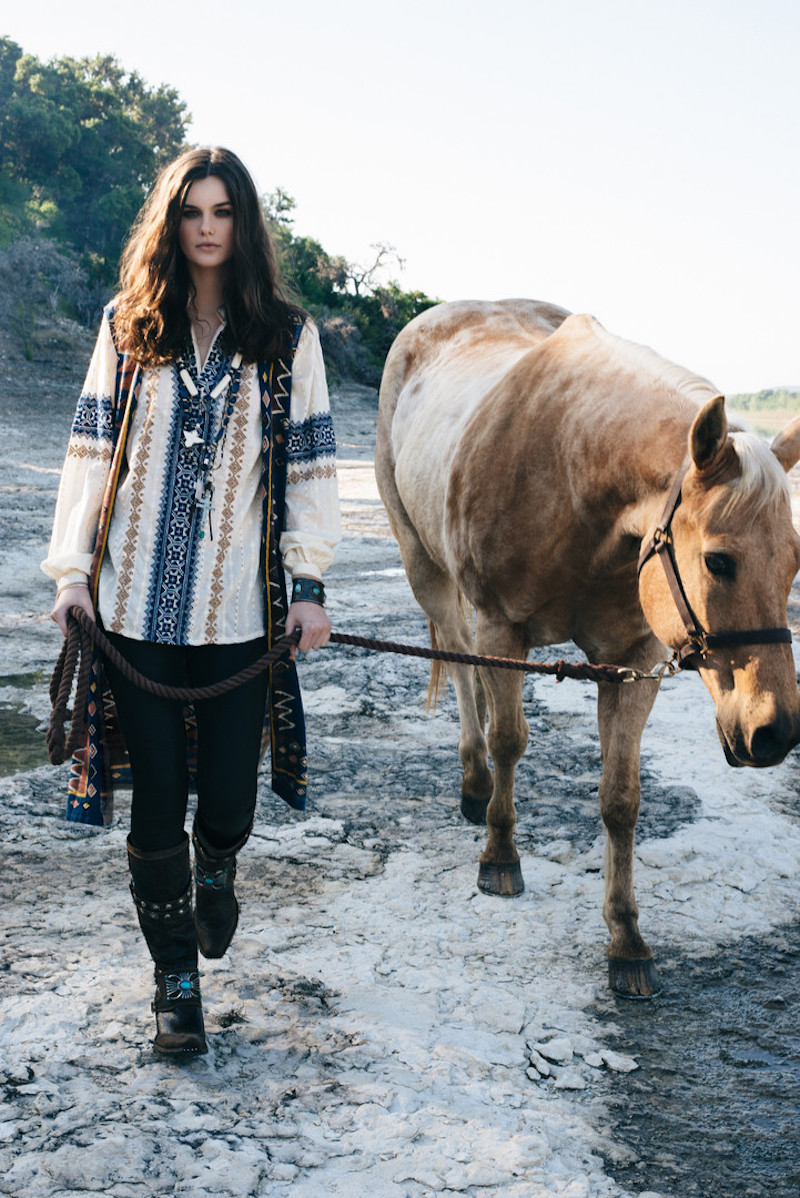 "Wild Bohemian West In Double D Ranch ""Mi Terra"" Pre-Fall Collection 2020"