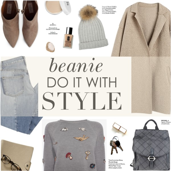 Beanie Hat Outfit Ideas For Fall-Winter 2019