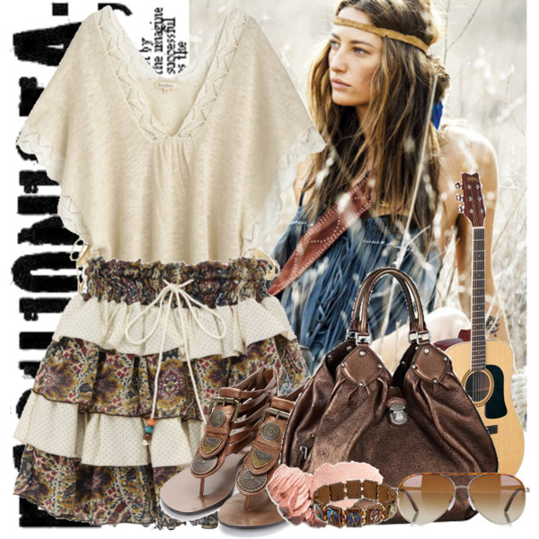 Bohemian Fashion Trends Easy Edgy And Feminine Looks