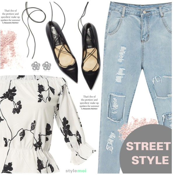 Boyfriend Jeans Outfit Ideas For Women Over 30