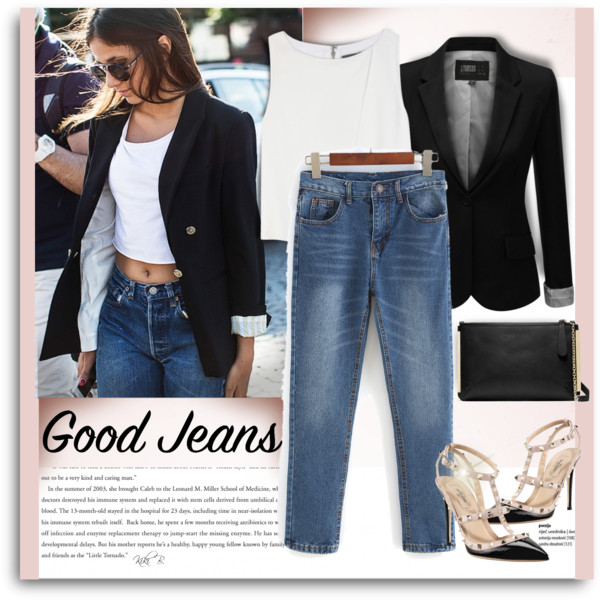 Boyfriend Jeans Outfit Ideas For Women Over 30 2019