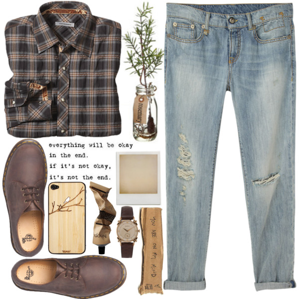 Boyfriend Jeans Outfits For Fall-Winter 2019