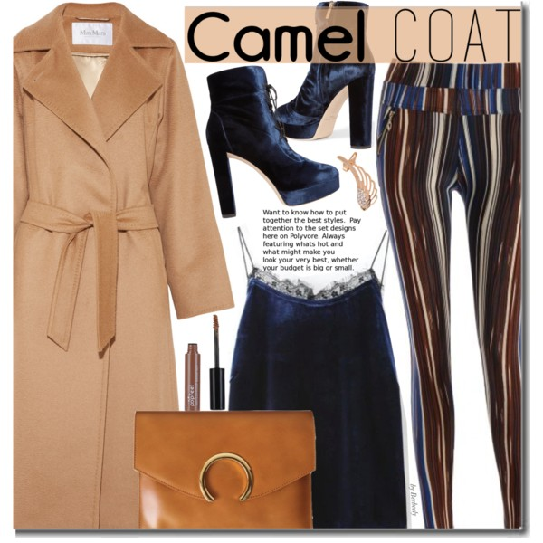 Camel Coats Outfits For Fall-Winter 2019