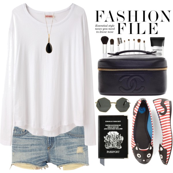 Cut Off Shorts Outfit Ideas 2017
