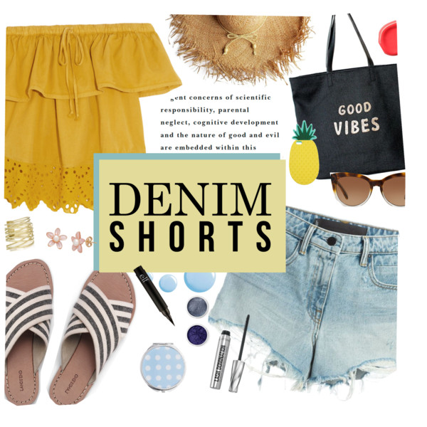 Cut Off Shorts Outfits For Summer 2017: Cool Looks You Can Recreate