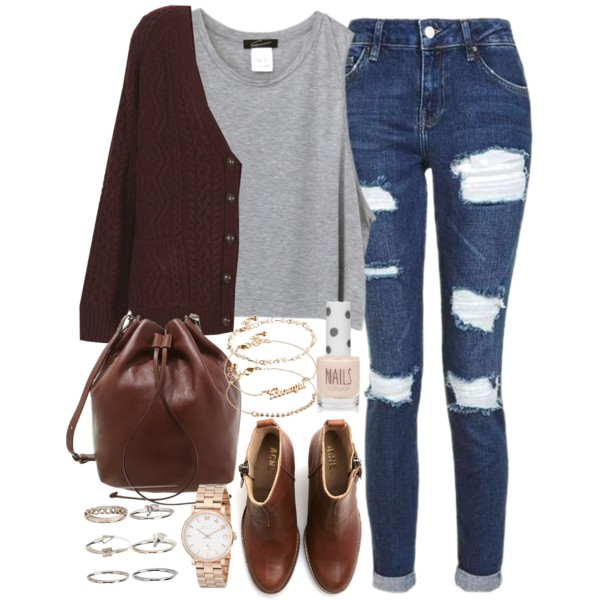 30 Cute College Outfit Ideas for Girls: Get Inspired Now 2019