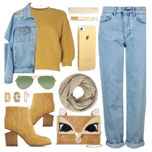 Denim Outfit Ideas For Fall-Winter Season