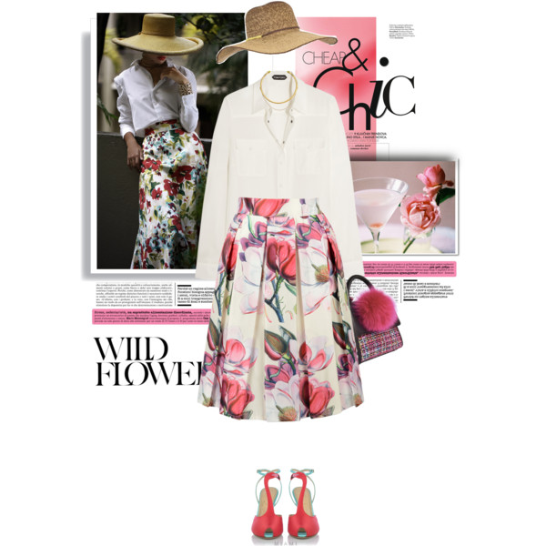 Floral Outfits 2017: Easy To Wear Combos