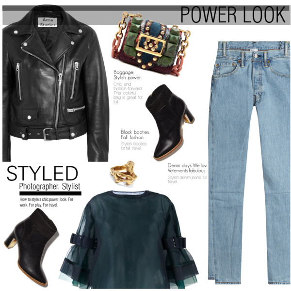 Leather Jacket Outfit Ideas For Women Over 40