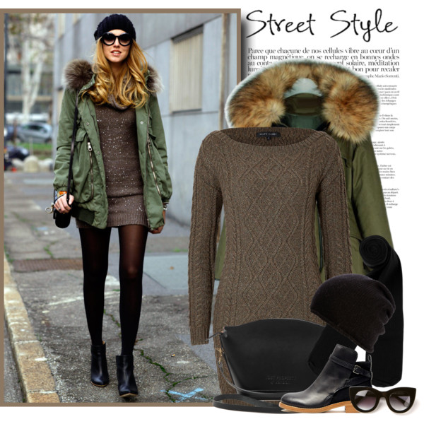 Womens Fashion Parka Jackets