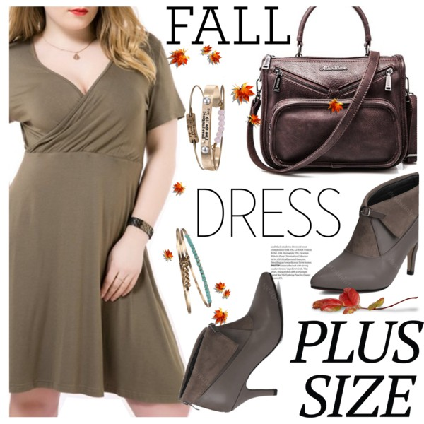 Women In 50 Fashion: Plus Size Dresses
