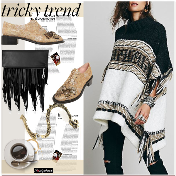 Poncho Outfit Ideas For Women Over 40 2019