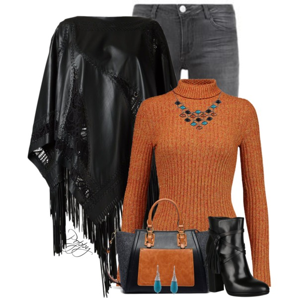 Poncho Outfit Ideas For Women Over 50 2020