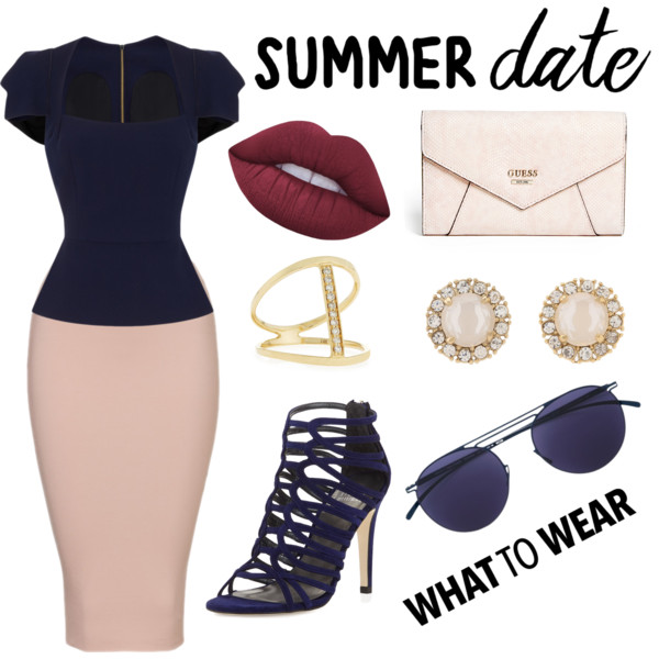 Women In 40 Fashion: Summer Formal Outfit Ideas 2019
