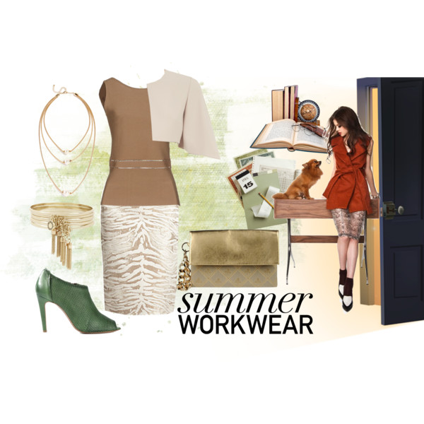 Get Professional: Summer Work Clothes For Women Over 45 2019