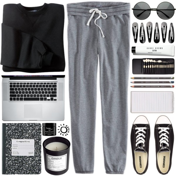 What To Wear With Sweatpants: Interesting Combinations 2020
