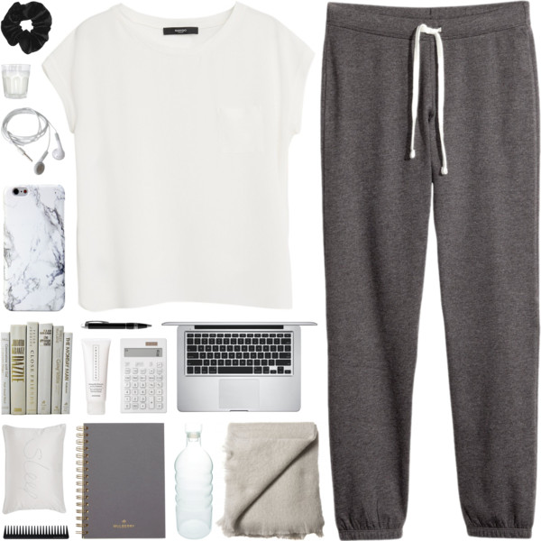 What To Wear With Sweatpants: Interesting Combinations 2018