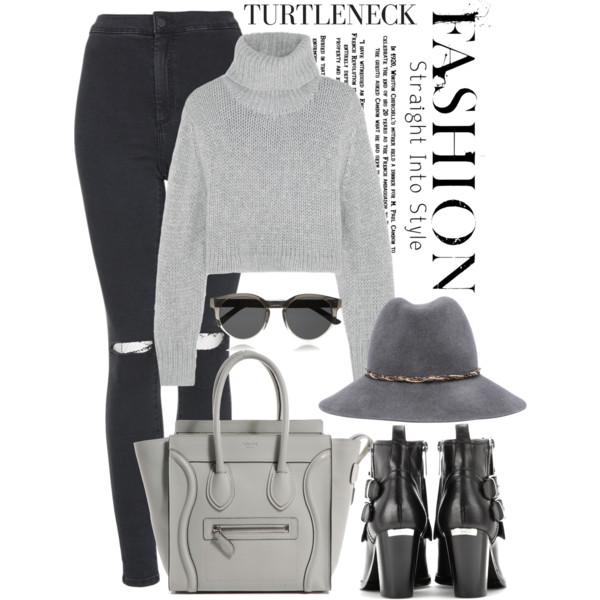 Turtleneck Sweaters Outfit Ideas For Ladies Who Search For New Styles 2019