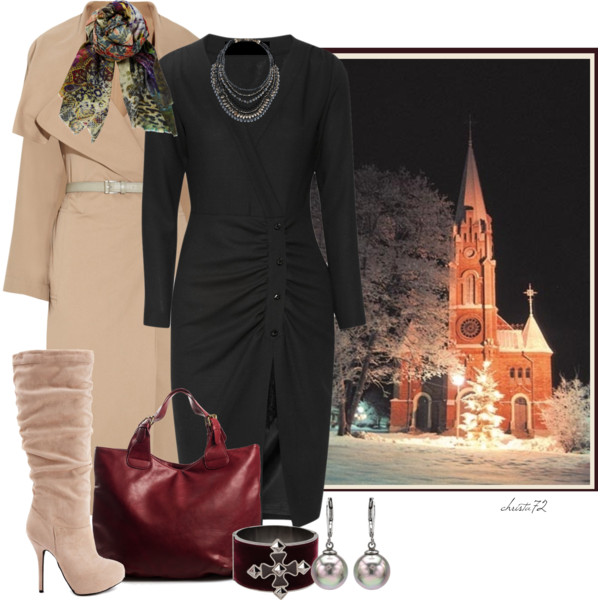 Ladies In 30 Can Try These Winter Church Outfit Ideas 2019
