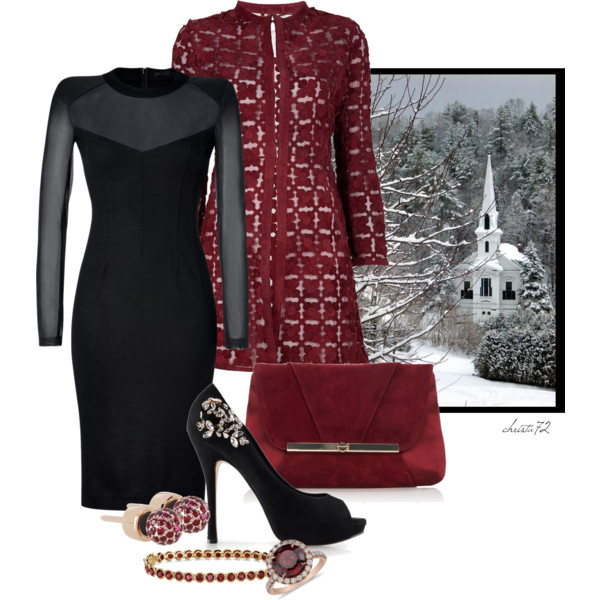 Easy And Creative Winter Church Outfit Ideas For Women Over 50 2020