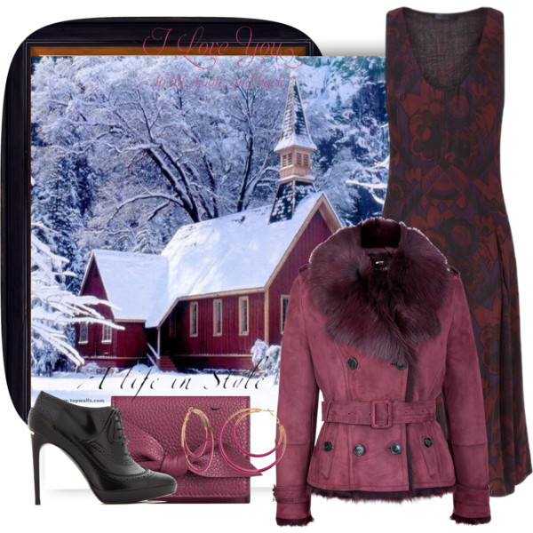 Easy And Creative Winter Church Outfit Ideas For Women Over 50 2019