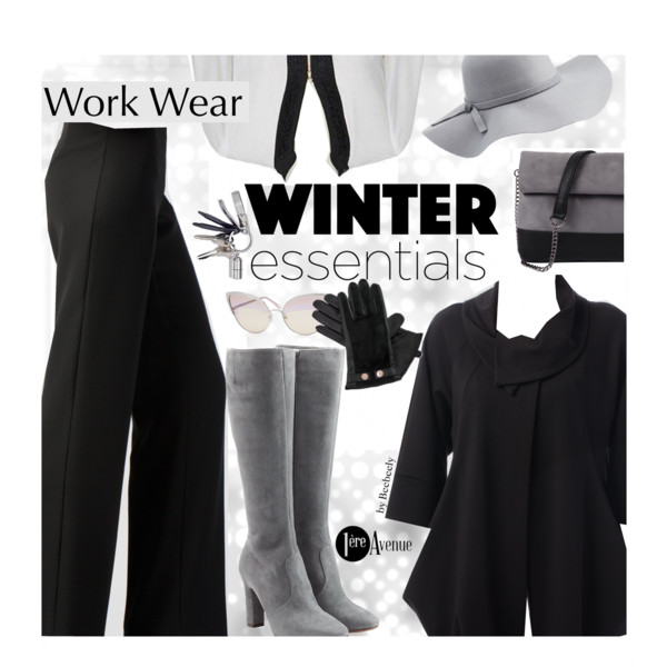Women After 40 Fashion: Winter Work Outfit Ideas 2018