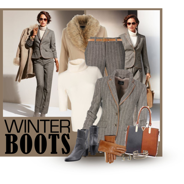 Winter Work Outfit Ideas For Women Over 45 2019