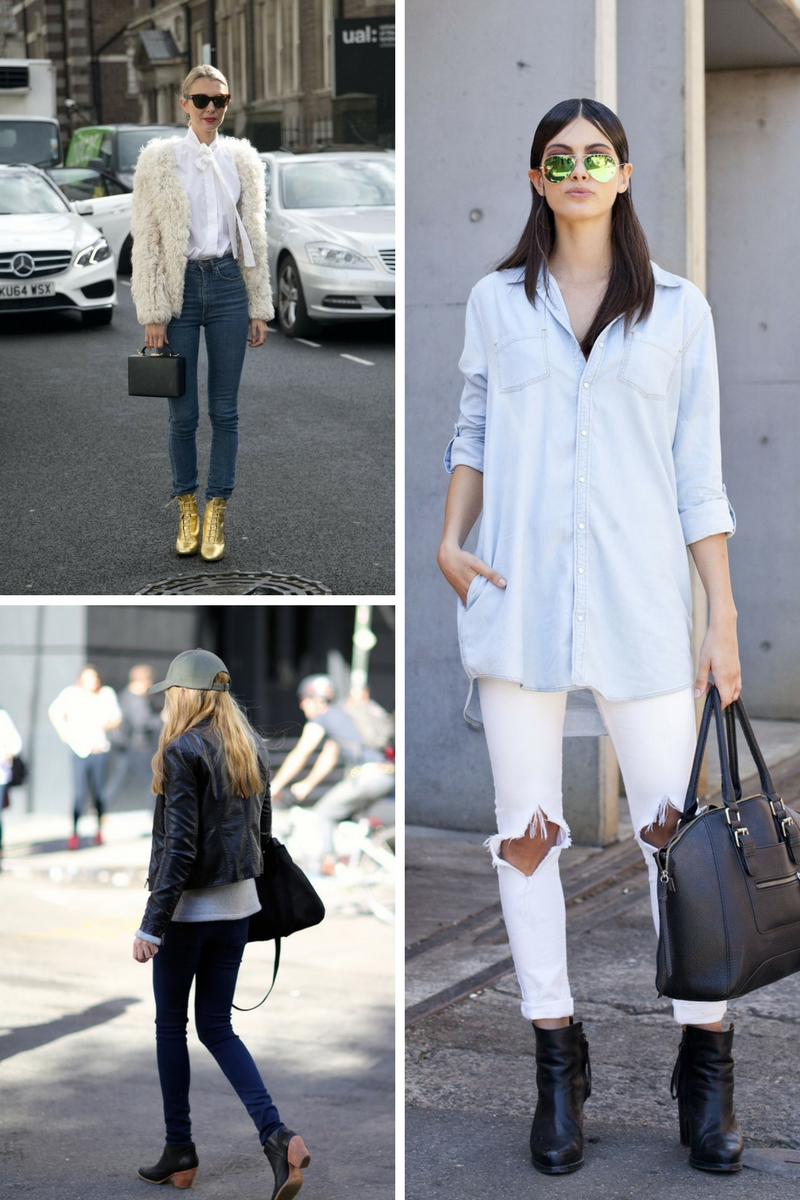 Best Ideas How To Make Ankle Boots and Jeans Look Awesome