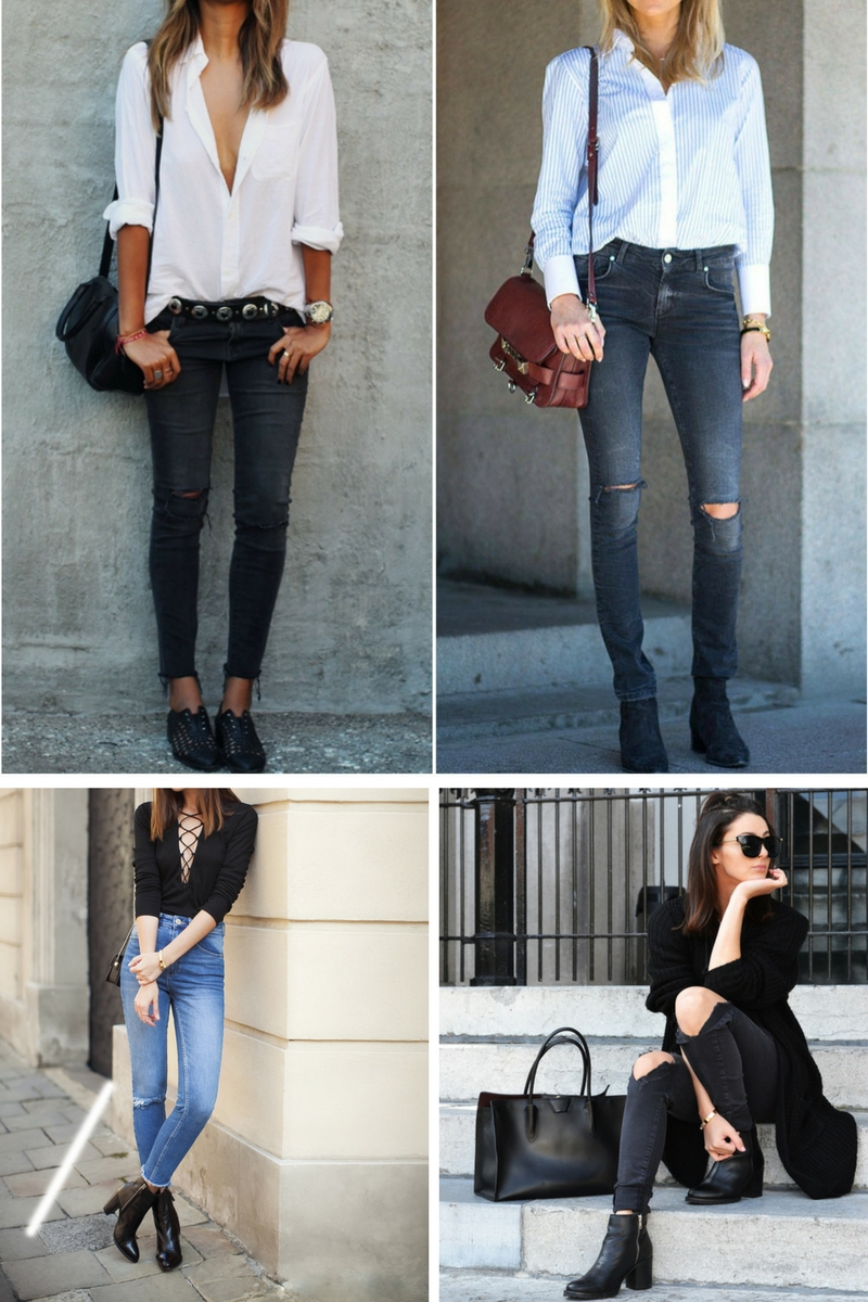 Best Ideas How To Make Ankle Boots and Jeans Look Awesome 2018