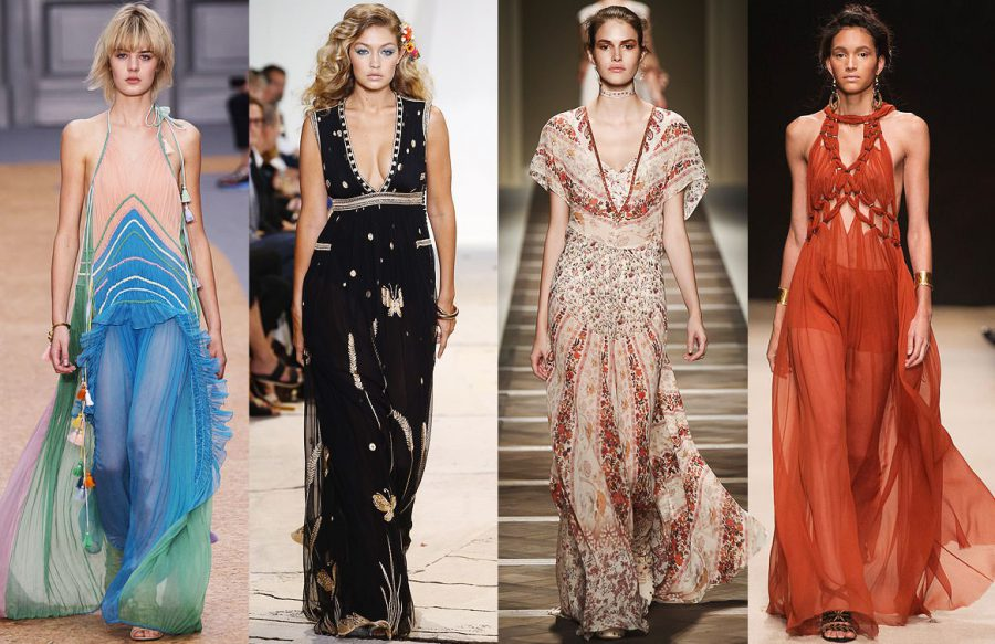 How to Wear Maxi Dresses This Year 2020