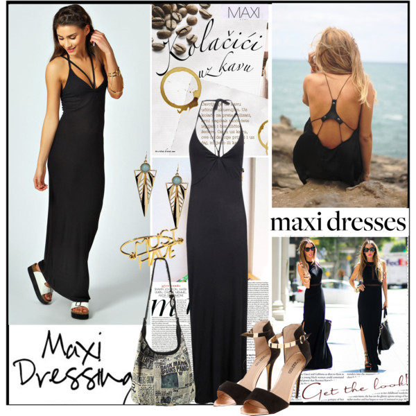 How to Wear Maxi Dresses This Year
