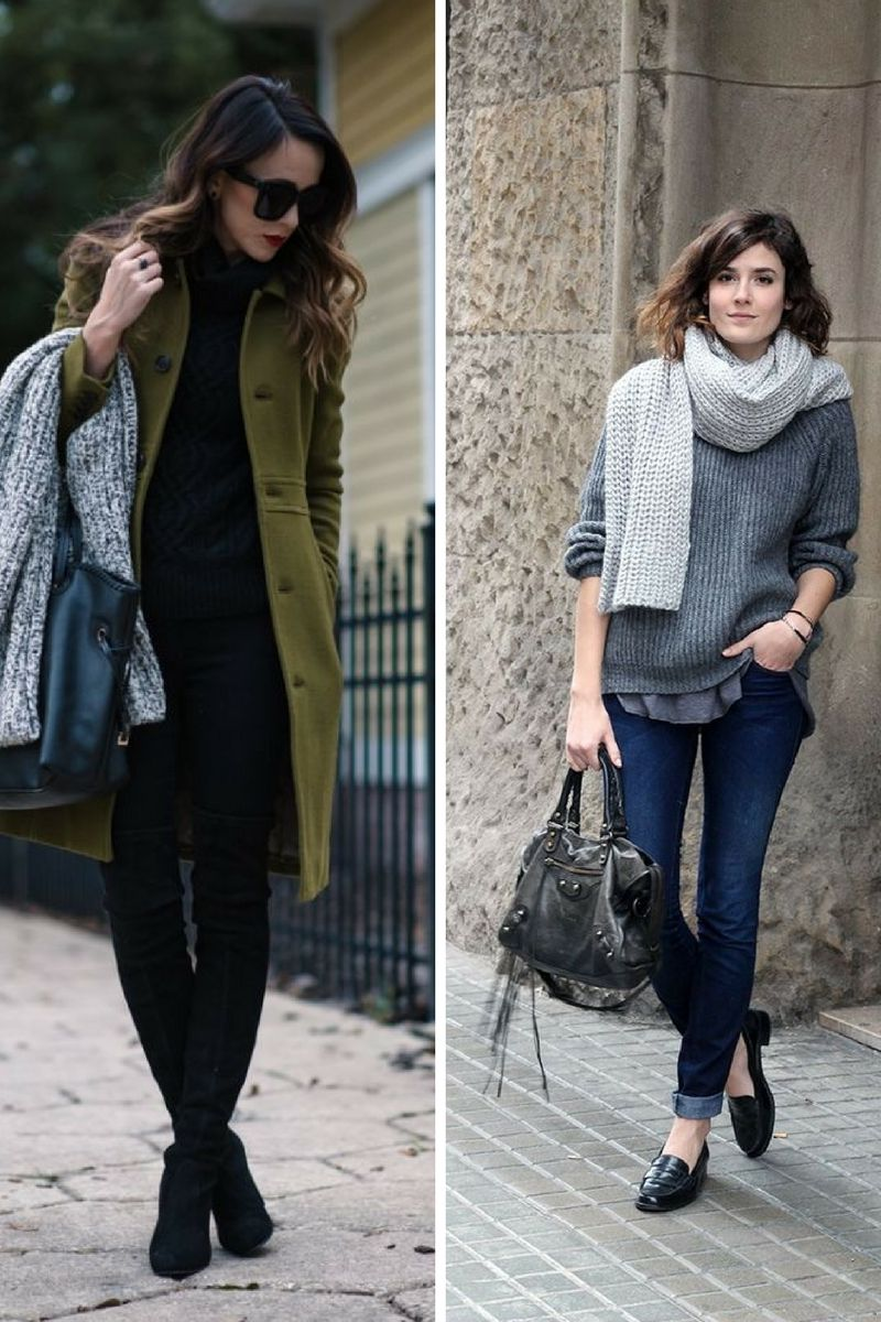 How To Wear Knitted Scarves This Winter 2020