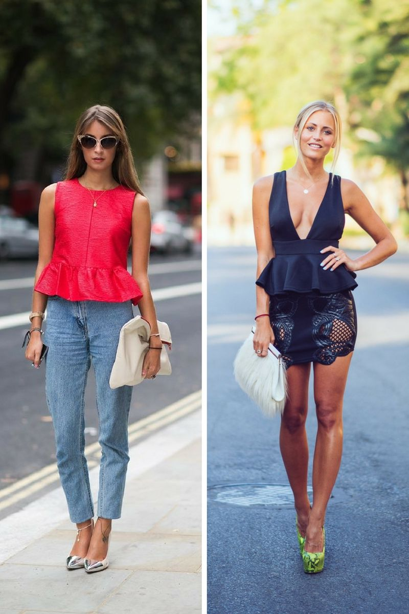 Must-Have Peplum Tops To Try Now 2019
