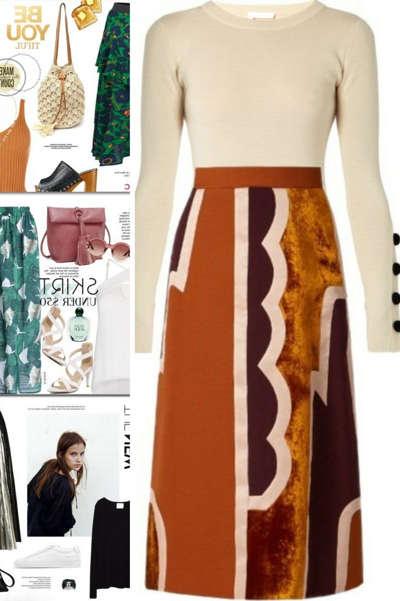 What to Wear with Long Skirts 2019