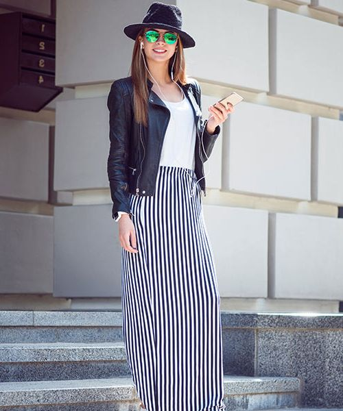 How To Wear Maxi Skirts Street Style Ideas 2020