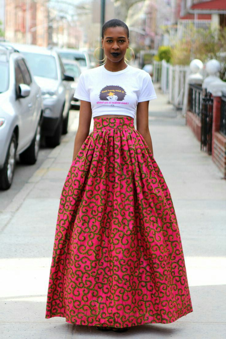 How To Wear Maxi Skirts Street Style Ideas 2019